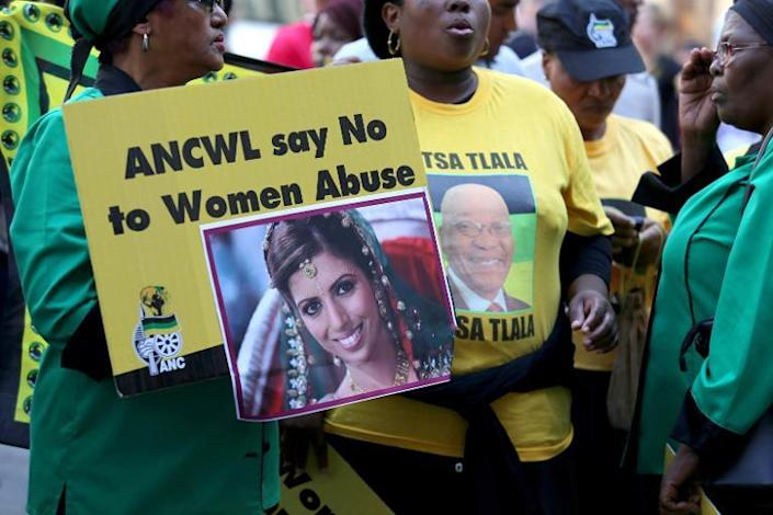 """A South African judge threw out the case against Dewani, saying the prosecution's argments had """"fallen far below"""" the level needed to secure a conviction (AFP Photo/Jennifer Bruce)"""