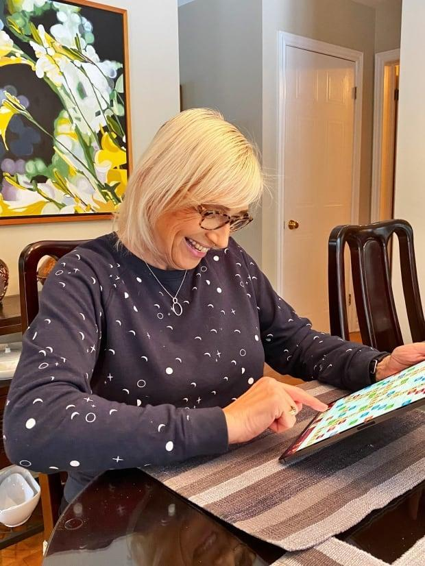 Betty Kuchta of Chatham, Ont., got a single-word score of 365 in a recent online Scrabble game.