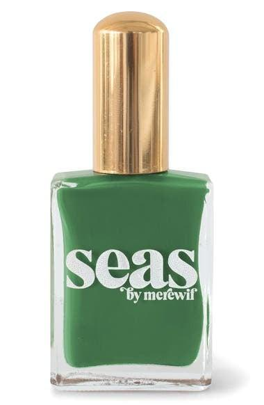 <p>Ring in spring with a gorgeous shade of green with the <span>Seas Coney Island Nail Polish</span> ($17).</p>