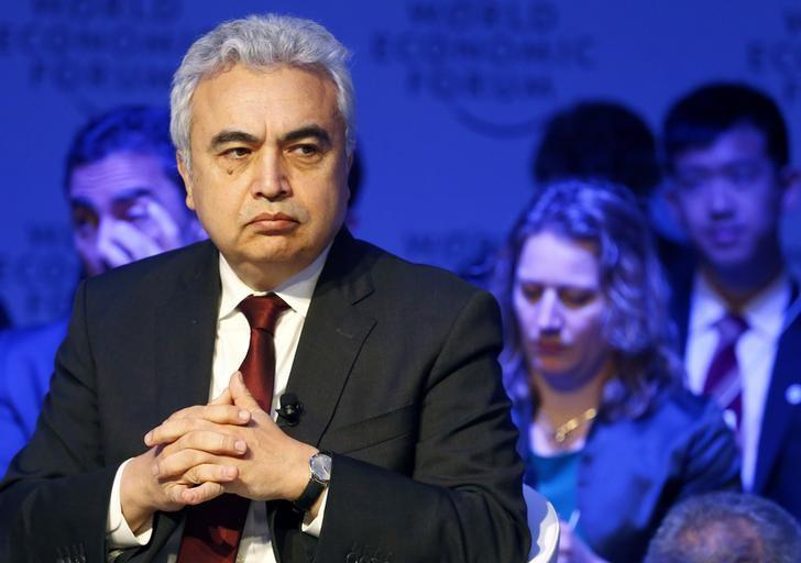 Birol Executive Director of the International Energy Agency attends the WEF annual meeting in Davos