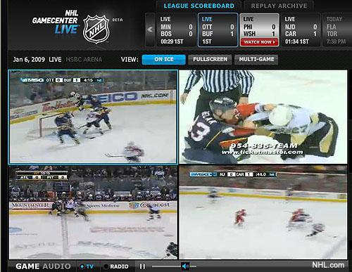 Is Nhl Gamecenter Live The Future Of Hockey On Television