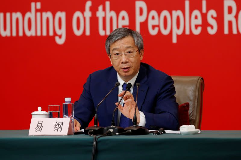 China's central bank chief urges IMF to open cash floodgate to fight pandemic