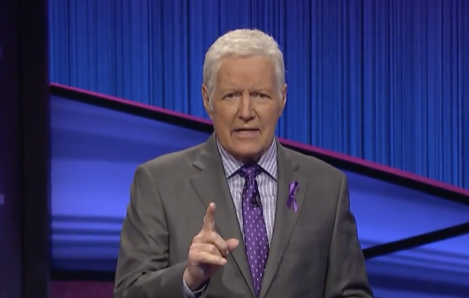 Alex Trebek  (Screenshot: World Pancreatic Cancer Coalition)