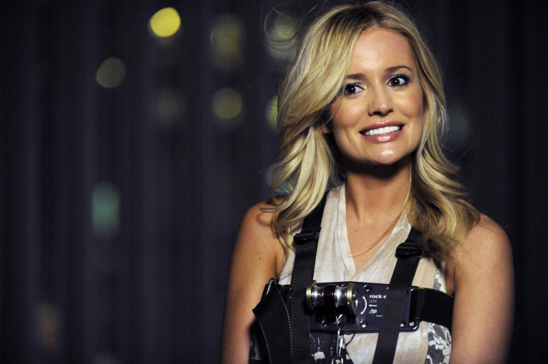 """In this March 2012 photo released by ABC shows Emily Maynard, a former contestant on """"The Bachelor"""" and now the star of the latest season of """"The Bachelorette,"""" in Charlotte, N.C. Maynard talks about what she's doing differently this time around as ABC's """"Bachelorette."""" She got engaged last year to Brad Womack in the season finale of """"The Bachelor"""" but their relationship didn't work out.(AP Photo/ABC, Angeline Herron)"""