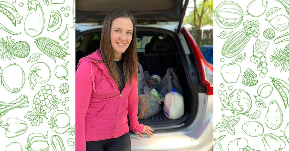 Sarah Luderer relies on Walmart Grocery pickup for savings and convenience. (Photo: Sarah Luderer)