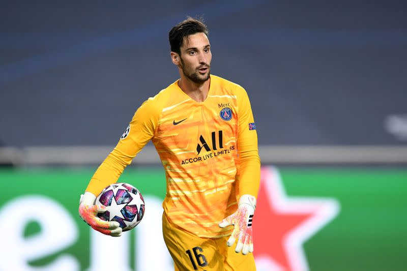 PSG sign goalkeeper Rico from Sevilla on four-year deal