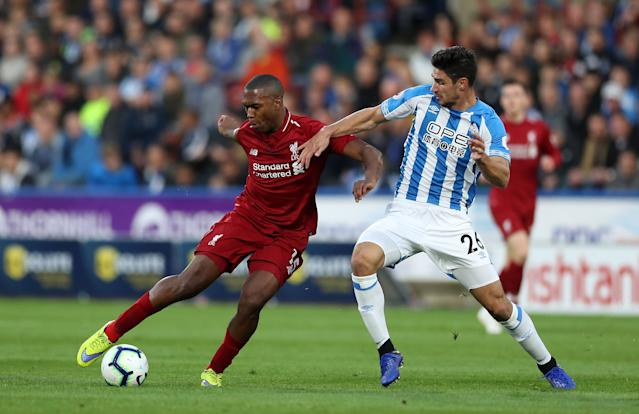 Daniel Sturridge has been given a two-week suspension from football and a £75,000 fine. (Credit: Getty Images)