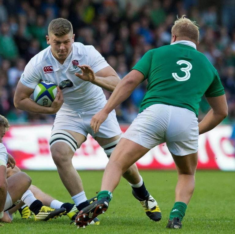 Jack Willis (left), pictured during the 2016 World Rugby Under 20 Championship final, is set to make his first Test appearance against Georgia