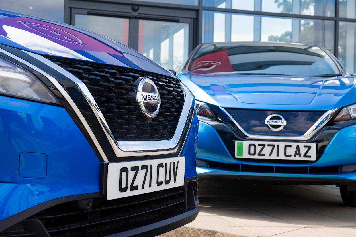 New Nissan Qsshqai on 71 plate