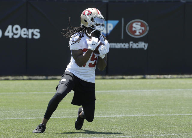 San Francisco 49ers cornerback Richard Sherman is one of the critics of the NFL's new helmet rule. (AP)