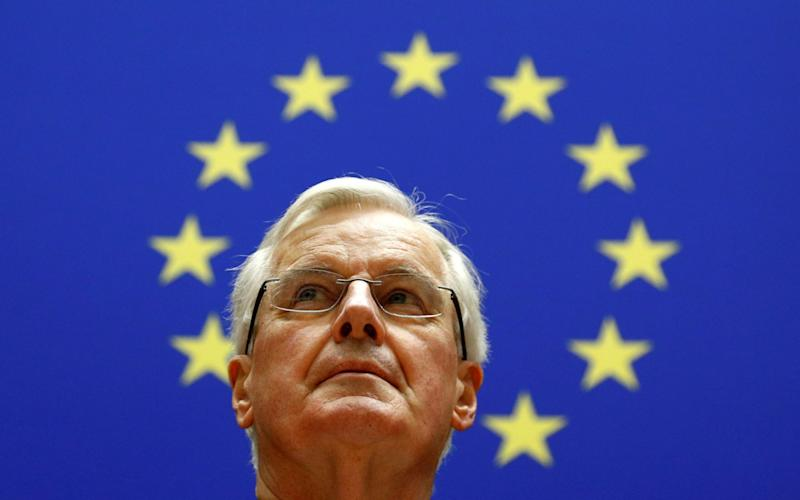 Michel Barnier has suggested London should lose its crown as the pre-eminant financial hub in Europe after Brexit.  - Reuters