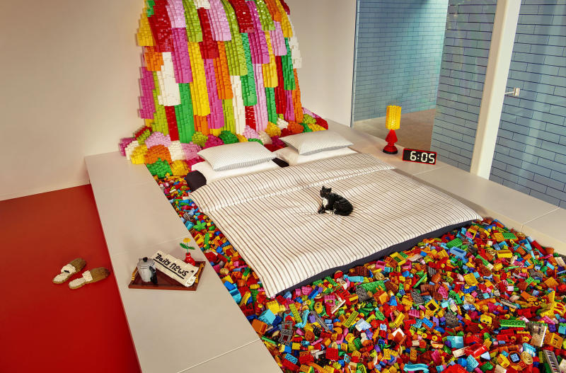 Lego House is a nearly 40,000 square foot structure filled with 25 million Lego bricks. (Lego)