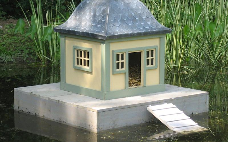 The 'Stockholm' duck house which former Conservative opposition MP Sir Peter Viggers claimed as expenses - Credit: AFP