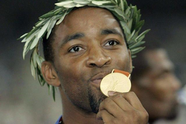 Olympic gold medallist Darren Campbell 'nearly died' after brain bleed