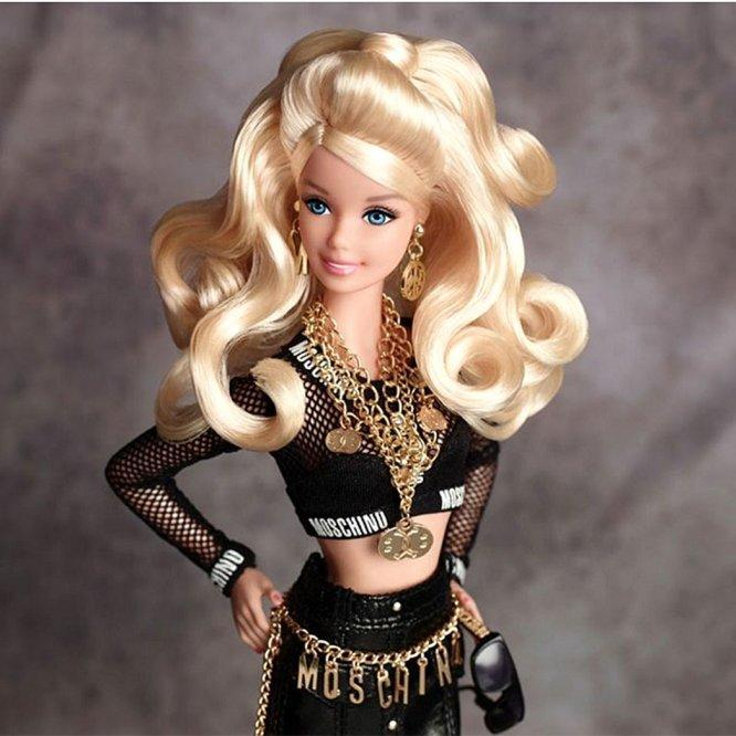 57b2f1c217 Fabulous Barbies Dressed in Moschino Are Coming to a Toy Store Near You