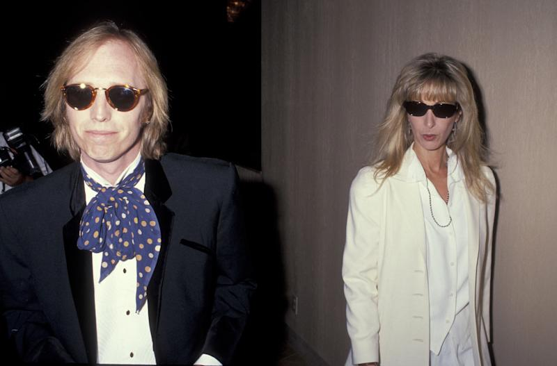 With wife Jane Petty at the ASCAP Music Awards on May 15, 1991 in Beverly Hills, CA.