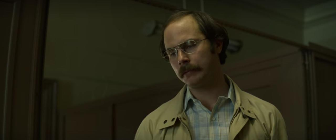 "<p><strong>First appearance</strong>: Episode 1</p> <p>Dennis Rader, or the <a href=""http://www.popsugar.com/entertainment/Who-BTK-Killer-44143273?utm_source=google_newsstand&amp;utm_medium=partner&amp;utm_campaign=feed"" class=""ga-track"" data-ga-category=""Related"" data-ga-label=""http://www.popsugar.com/entertainment/Who-BTK-Killer-44143273?utm_source=google_newsstand&amp;utm_medium=partner&amp;utm_campaign=feed"" data-ga-action=""In-Line Links"">BTK (""bind, torture, kill"") murderer</a>, frames the series but never comes in contact with the Behavioral Science Unit. Why? Because Rader, who killed 10 people throughout Wichita, KS, from 1974 to 1991, wasn't caught until 2005. We just see shots of him sprinkled throughout the series acting suspiciously. In episode two, Bill does talk with one of his surviving <a href=""https://www.popsugar.com/entertainment/Who-Are-BTK-Killer-Victims-46507743"" class=""ga-track"" data-ga-category=""Related"" data-ga-label=""http://www.popsugar.com/entertainment/Who-Are-BTK-Killer-Victims-46507743"" data-ga-action=""In-Line Links"">victims</a>, Kevin Bright. </p>"