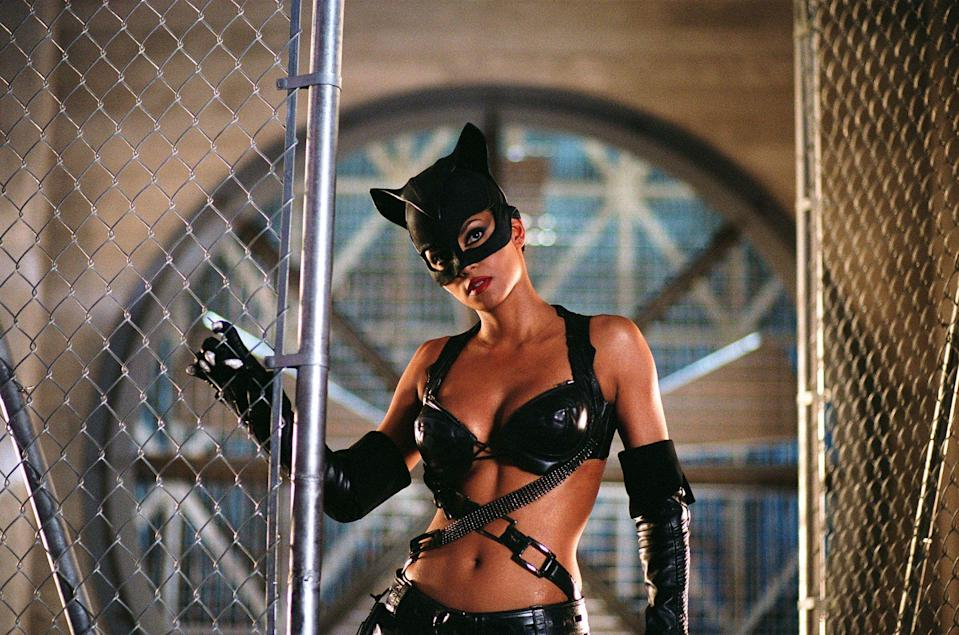 Berry in the critically panned Catwoman (Warner Bros/Dc Comics/Kobal/Shutterstock)