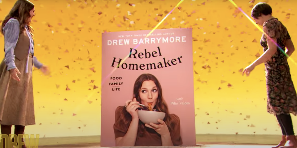 Photo credit: The Drew Barrymore Show/YouTube
