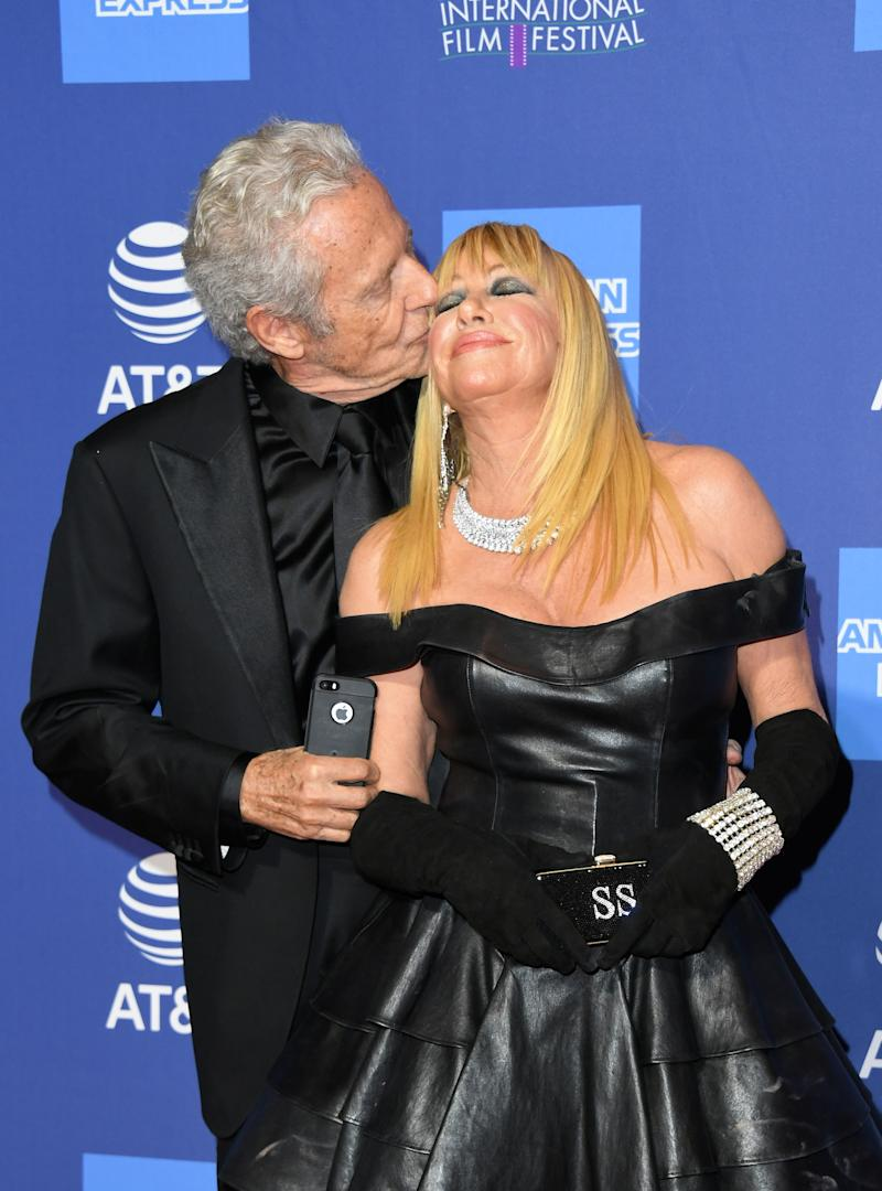 Hamel and Somers (pictured in January) have been married since 1977. (Photo: Jon Kopaloff/Getty Images)