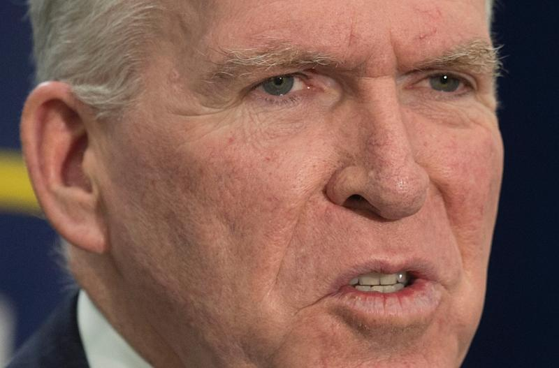 Director of Central Intelligence Agency John Brennan, pictured on December 11, 2014, had a private AOL email account hacked (AFP Photo/Jim Watson)