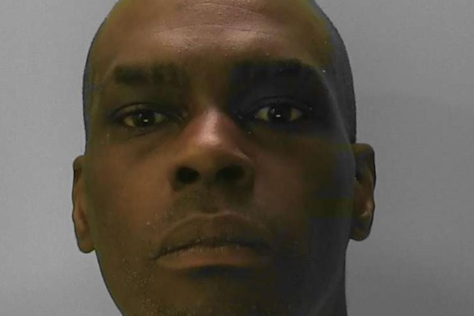Frank Graham, 39, attacked two men at the scene of the crash in August last year, Lewes Crown Court Heard.