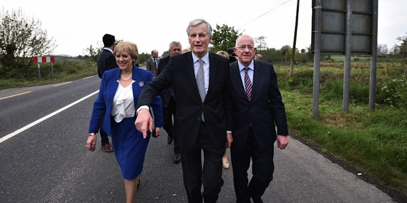 Michel Barnier Northern Ireland
