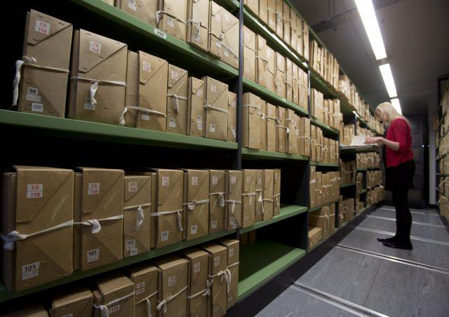 The files have been released by the National Archives in Kew (Yui Mok/PA)