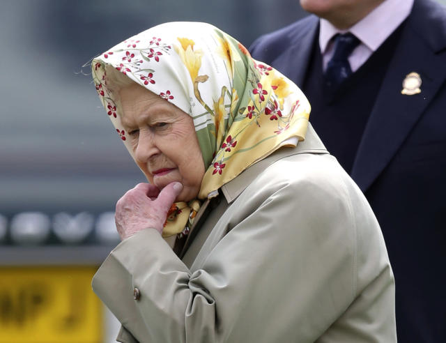 Queen Elizabeth II attends the Royal Windsor Horse Show in May. (Andrew Matthews/PA via AP)