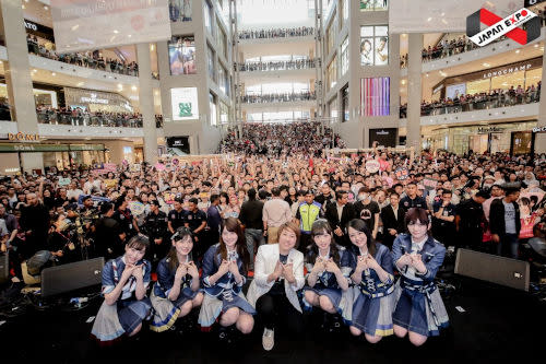 More than 180,000 crowd visited last year's JEMY to see AKB48 and 75 other Japanese artistes perform.
