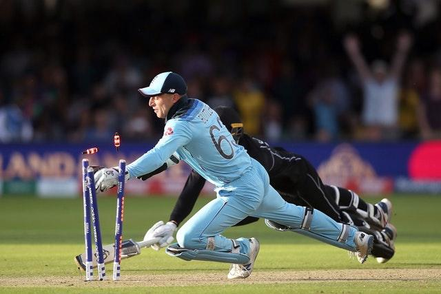 England's Jos Buttler took the winning wicket (Nick Potts/PA)