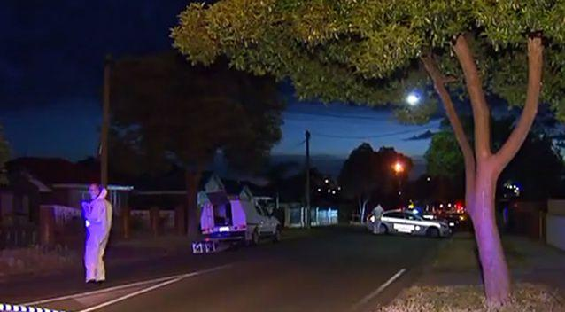 The male's body was found on a footpath and the road in the suburb in Adelaide's north. Photo: 7 News