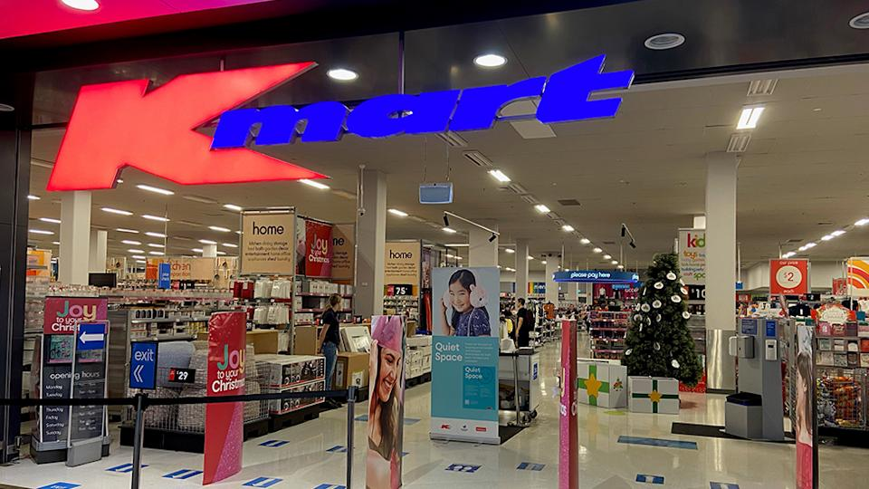 Kmart has announced their new initiative 'Quiet Space' for those who are on the autism spectrum or find it challenging to shop in such a high-sensory environment. Photo: Supplied