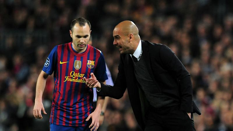 Chinese club 'positive' of signing Iniesta