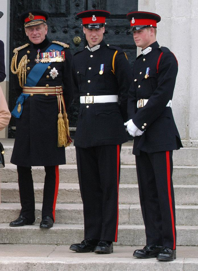 Prince Philip Stepped Up Big Time for Prince Harry and ...