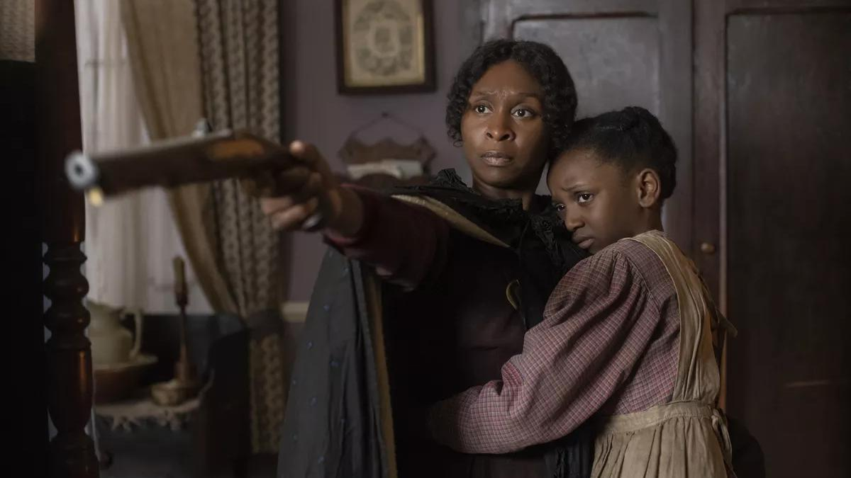Cynthia Erivo as abolitionist Harriet Tubman in historical drama 'Harriet'. (Credit: Focus Features)