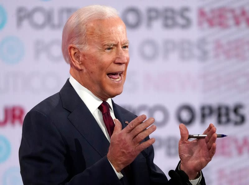 Facing blowback, Biden clarifies stance on impeachment trial testimony