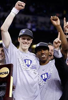 Kyle Singler (left) and Nolan Smith are back to try and lead Duke to another NCAA title