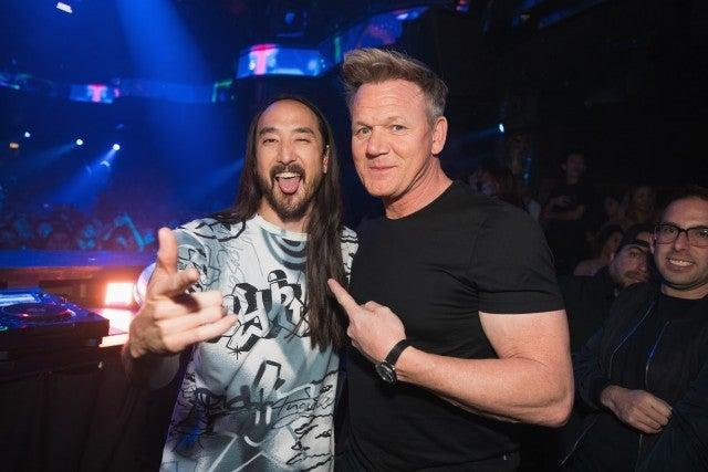 steve aoki and gordon ramsay