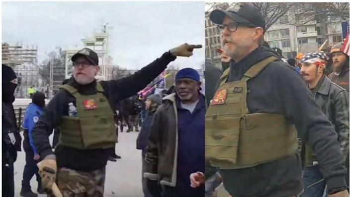 William Chrestman of Kansas faces multiple federal charges related to the U.S. Capitol riot on Jan. 6 in Washington, D.C.