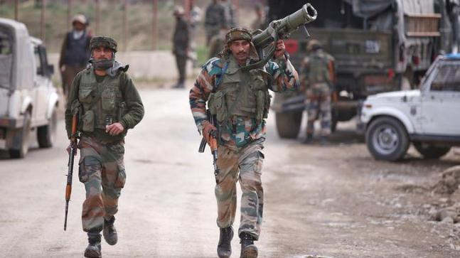 The Indian troops have reportedly killed eight of Pakistan Army personnel in retaliatory fire.