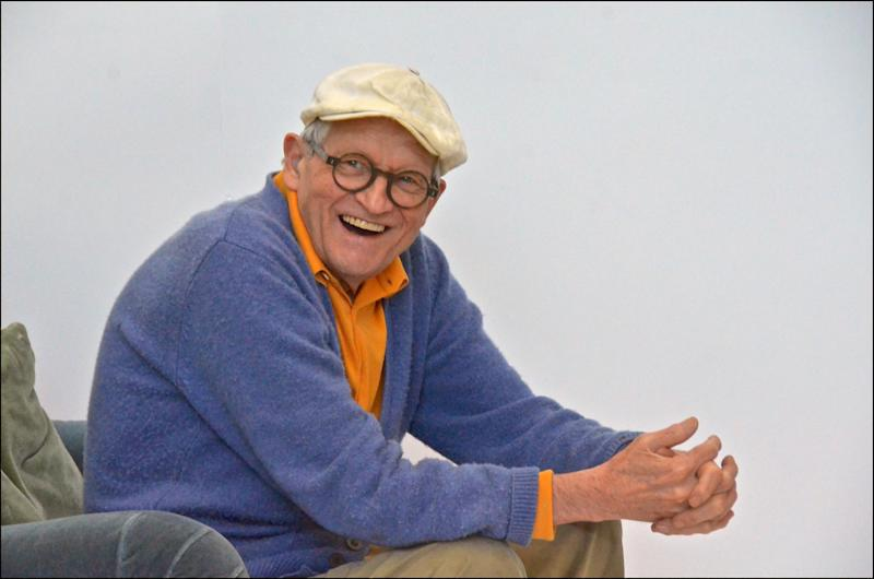 Art acquisition: David Hockney filmed by Tacita Dean