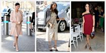 "<p>From striped blazers to crisp button-downs, Meghan Markle is quickly becoming fashion's preppiest new ""it"" girl. We're chronicling her standout style moments here, from her first outing as Prince Harry's fiancé and her iconic royal wedding look to her various royal tours and the outfit Meghan chose to introduce <a href=""https://www.townandcountrymag.com/society/tradition/g27376121/archie-harrison-mountbatten-windsor-photos-news/"" rel=""nofollow noopener"" target=""_blank"" data-ylk=""slk:baby Archie to the world"" class=""link rapid-noclick-resp"">baby Archie to the world</a>. Here, take a look at our favorite fashion looks from the Duchess of Sussex. </p>"
