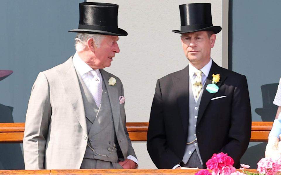 Prince Charles, Prince of Wales and Prince Edward, Earl of Wessex during Royal Ascot - Chris Jackson/Getty Images