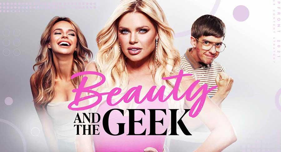 Sophie Monk's Beauty And The Geek poster