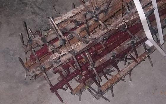 Nail-studded clubs believed to have been used by Chinese soldiers at the border - Ajai Shukla