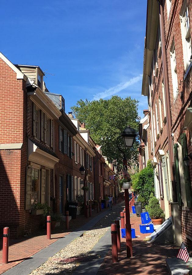 You'll visit the oldest street in America. Photo: Carly Williams Yahoo7 Be