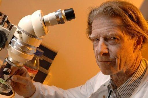 Image provided by the Wellcome Trust on October 8 shows British scientist John Gurdon. He has been awarded the Nobel Prize for work in cell programming, a frontier that has nourished dreams of replacement tissue for people crippled by disease