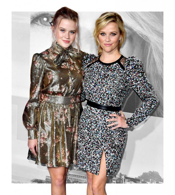 Reese Witherspoon and her daughter, Ava Philippe, look alike and dress alike