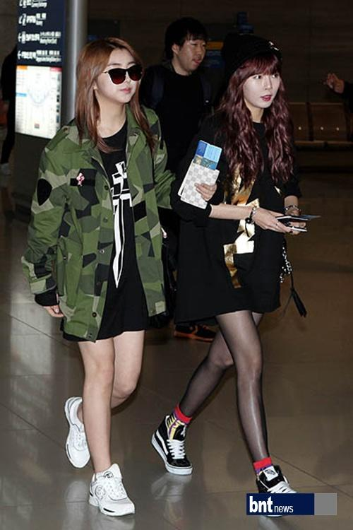 4 minute, going L.A. for SBS K-pop Super Concert